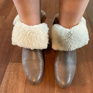 Kate spade leather boots